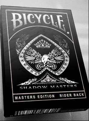 Baralho Bicycle Shadow Masters Ilusionista Magica Poker - 2 Duplo Face