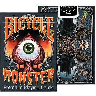 Baralho Bicycle Monster Cardistry Magica - 2 Gaff Cards