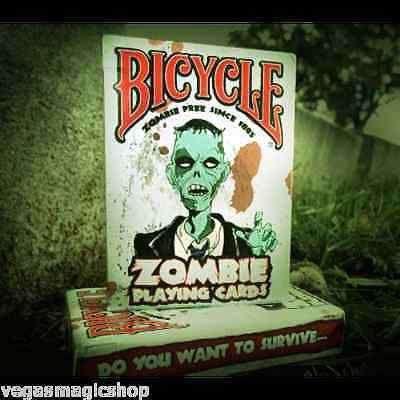 Baralho Bicycle Zombie USPCC