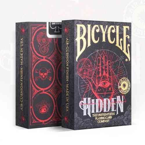 Baralho Bicycle Hidden - Magica Poker