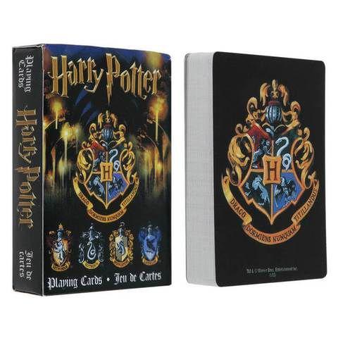 2A -  Baralho Harry Potter Modelo 02 Brasões De Hogwarts