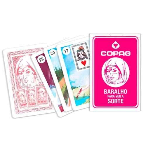3A - Baralho Para Ver a Sorte  Esotérico  Cigano  -  COPAG