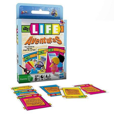 1A - Jogo de Cartas The Game of Life -  Aventuras - Hasbro
