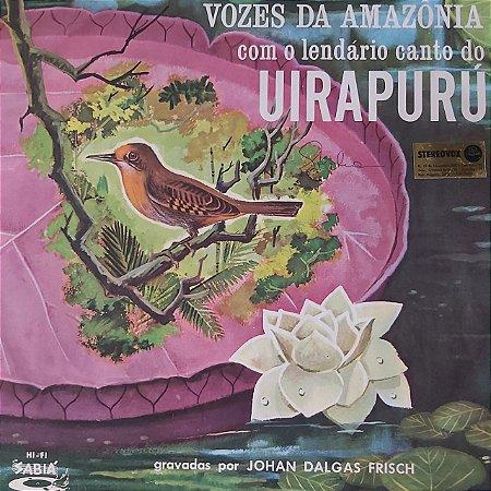 LP - Johan Dalgas Frisch – Vozes Da Amazonia: Uirapuru