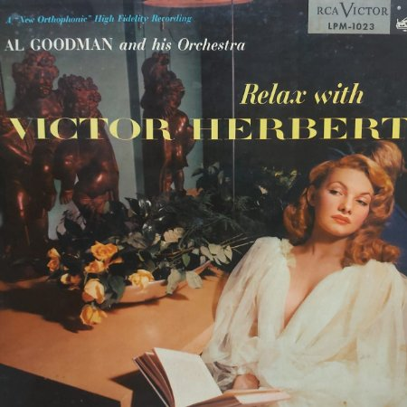 LP - Al Goodman And His Orchestra – Relax With Victor Herbert (Importado US)