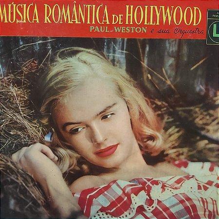 LP - Paul Weston e sua Orquestra - Música Romântica de Hollywood