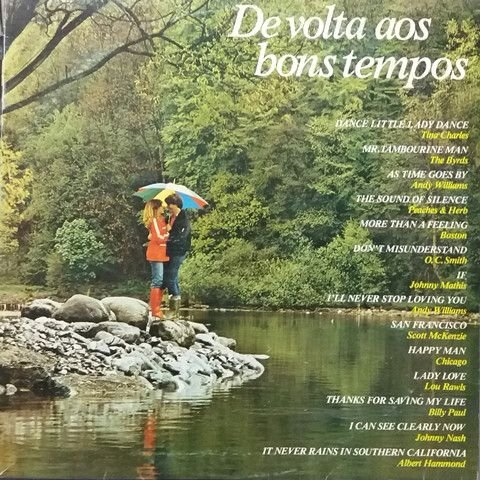LP - De Volta aos Bons Tempos (Vários Artistas)