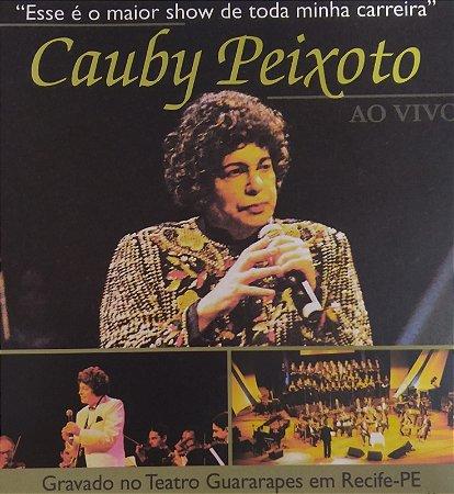 """CD - Cauby Peixoto - Ao Vivo - """"Esse é o Maior Show de Toda Minha Carreira"""""""
