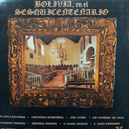 LP - Bolivia En El Sesquicentenario (Vários Artistas) (Importado Bolivia)
