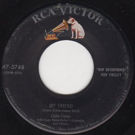 Compacto - Eddie Fisher – My Friend / Green Years (Imp)