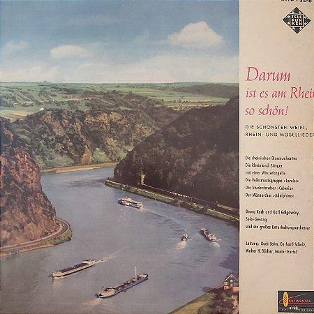 LP - Darum Ist Es Am Rhein So Schön (Vários Artistas) (Importado Alemanha)