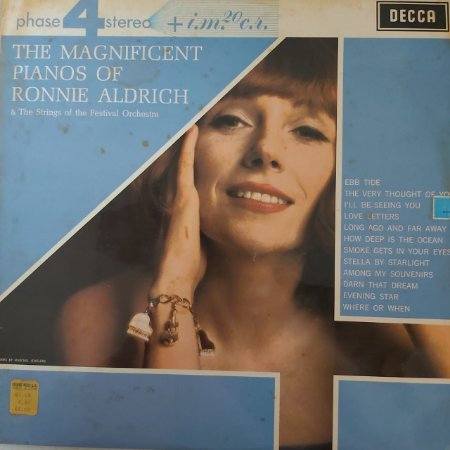 LP - Ronnie Aldrich And His Two Pianos – The Magnificent Pianos Of Ronnie Aldrich (Importado UK)