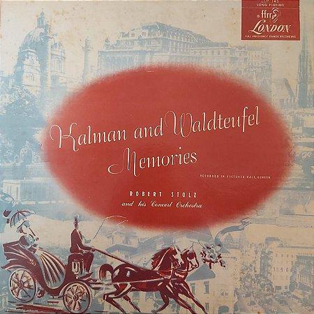 LP - Robert Stolz And His Symphony Orchestra – Kalman and Waldteufel Memoriesr (Importado US)