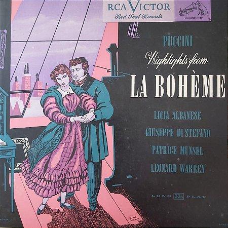 LP - Puccini – Highlights From La Bohème (Importado US)