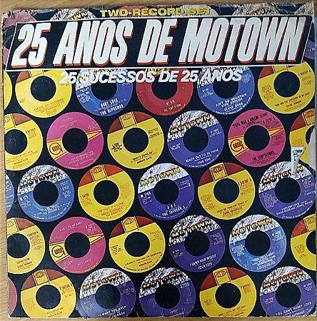 LP - 25 Anos De Motown - 25 Sucessos De 25 Anos (Vários Artistas)