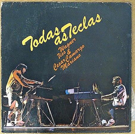 LP - Wagner Tiso & César Camargo Mariano - Todas As Teclas