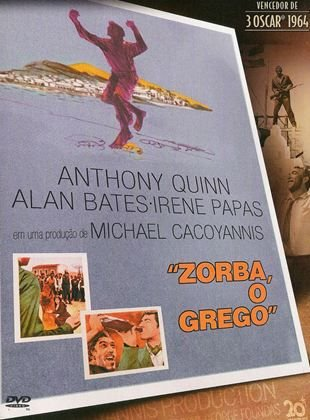 DVD -  Zorba o Grego