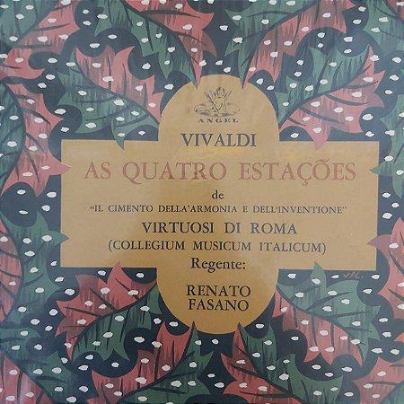 LP - Virtuoso Di Roma - Vivalde - As quatro Estações