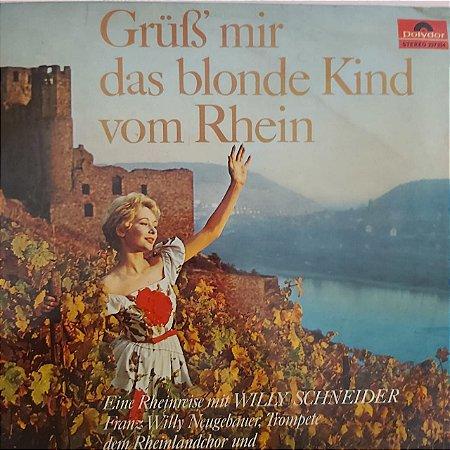 LP - Kurt Edelhagen – Grüss mir das blonde Kind vom Rhein - (Importado Alemanha)