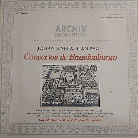 LP - Johann Sebastian Bach - Concertos de Brandenburgo (Duplo)