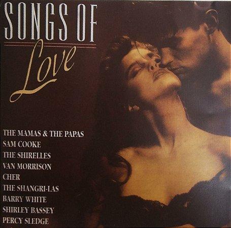 CD - Songs Of Love (Vários Artistas)