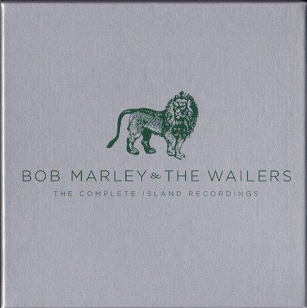 CD - Bob Marley & The Wailers – The Complete Island Recordings (Novo Lacrado) (BOX 11 CDs)
