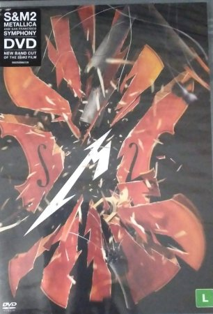 DVD - Metallica & San Francisco Symphony – S&M2 (Lacrado)