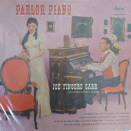 """LP - Joe """"Fingers"""" Carr – Parlor Piano (Importado US)"""
