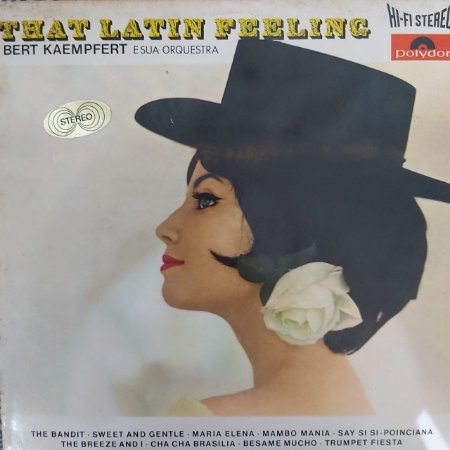 LP - Bert Kaempfert & His Orchestra – That Latin Feeling