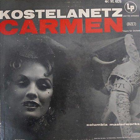 LP - Bizet - Kostelanetz And His Orchestra – Carmen (Importado US)