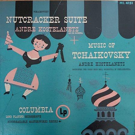 LP - Andre Kostelanetz - Nutcracker Suite + Music Of Tchaikovsky (Importado US)