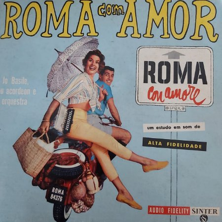 LP - Jo Basile Seu Acordeon E Orquestra – Roma Com Amor