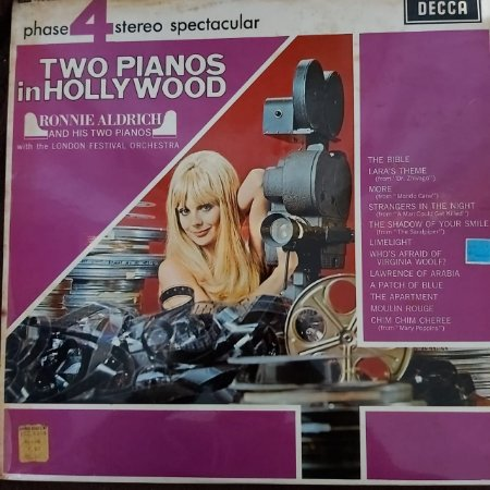 LP - Ronnie Aldrich And His Two Pianos – Concerto In Phase 4 Stereo Spectacular (Importado Italy)