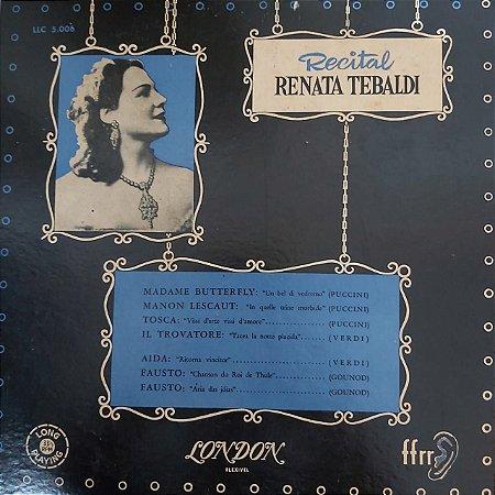 LP - Renata Tebaldi - Recital Renata Tebaldi