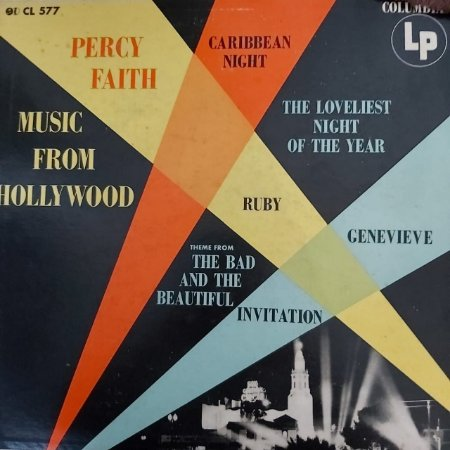 LP - Percy Faith – Music From Hollywood (Importado US)