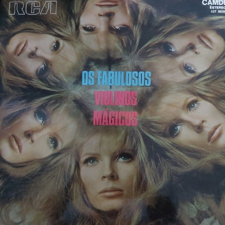 LP - Os Violinos Mágicos – Os Fabulosos Violinos Mágicos (Vários Artistas)