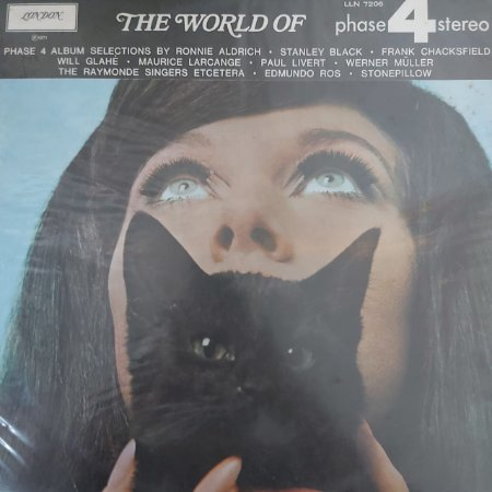 LP - The World Of Phase 4 Stereo (Vários Artistas) (Importado UK)