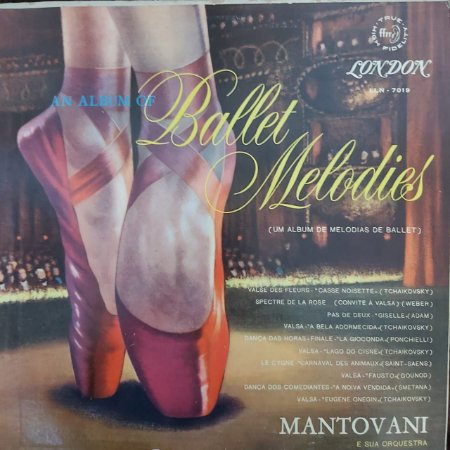 LP - Mantovani And His Orchestra – An Album Of Ballet Melodies (Importado UK)