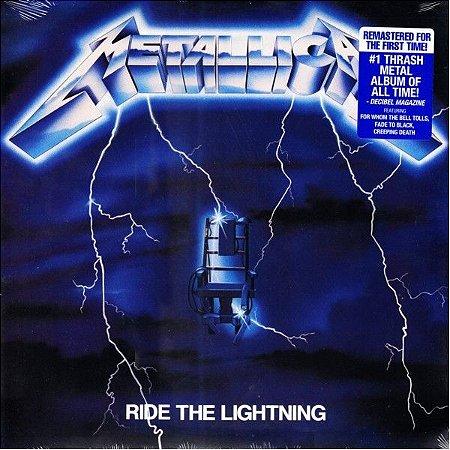 LP - Metallica – Ride The Lightning (Novo - Lacrado) (Importado)