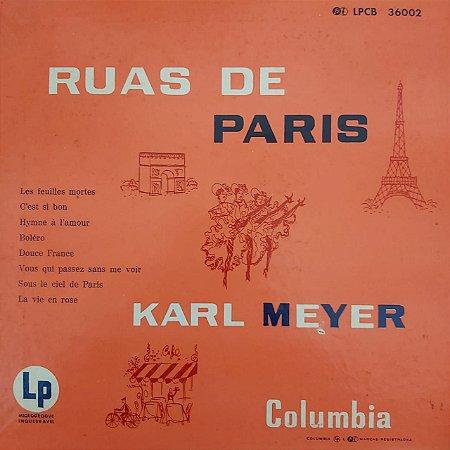 "LP - Karl Meyer – Ruas De Paris (10"")"