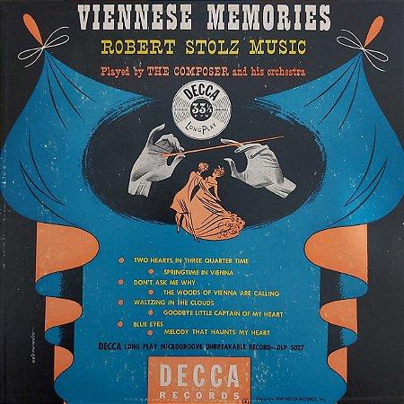 "LP - Robert Stolz – Viennese Memories (Importado US) (10"")"