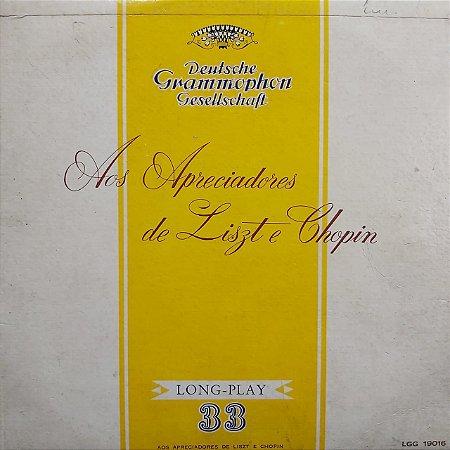 LP - Aos Apreciadores de Liszt e Chopin