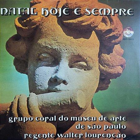 LP - Grupo Coral Do Museu De Arte De São Paulo – Natal Hoje E Sempre
