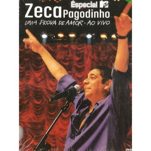 DVD - Zeca Pagodinho – Especial MTV: Uma Prova De Amor - Ao Vivo