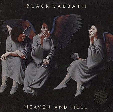 CD - Black Sabbath – Heaven And Hell (Novo - LACRADO)