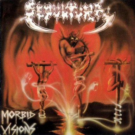 CD - Sepultura – Morbid Visions / Bestial Devastation (Novo - LACRADO)
