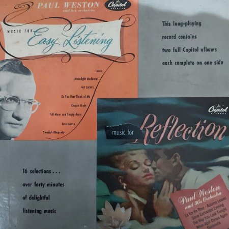 LP - Paul Weston And His Orchestra – Music For Easy Listening - Reflection (Importado US)