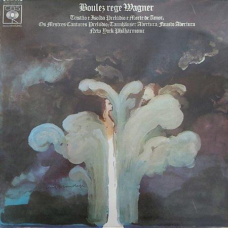 LP - Boulez Rege Wagner - New Your Philharmonic