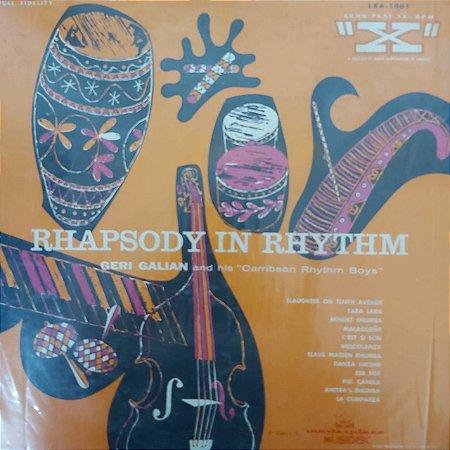 LP - Geri Galian And His Caribbean Rhythm Boys – Rhapsody In Rhythm (Importado US)