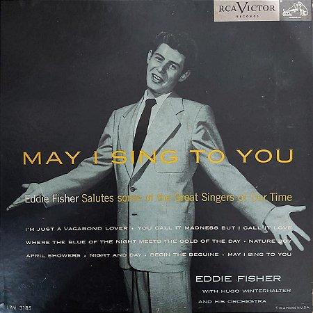 "LP - Eddie Fisher – May I Sing To You (Importado US) (10"")"
